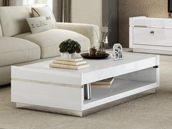Grace High Gloss Coffee Table Coffee Table Adore Home Living