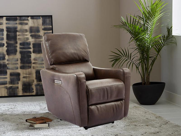 Harrison Electric Recliner Leather Lounge Adore Home Living