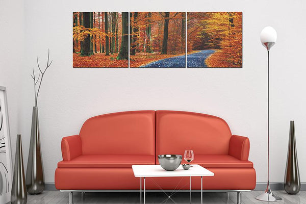 Autumn Path - Order Only Acrylic Printed Painting Adore Home Living