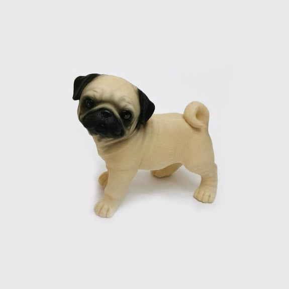 lifelike Mini Shar Pei Decor Ornament Adore Home Living