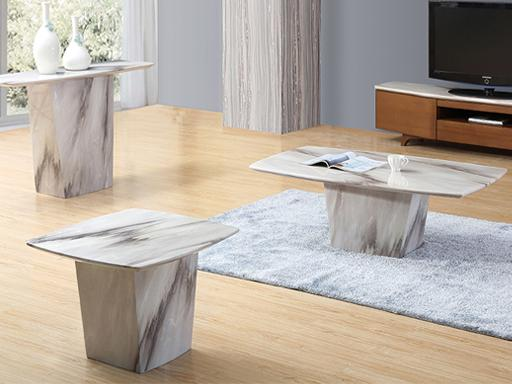 Sogne Marble Console Table Console Table Adore Home Living