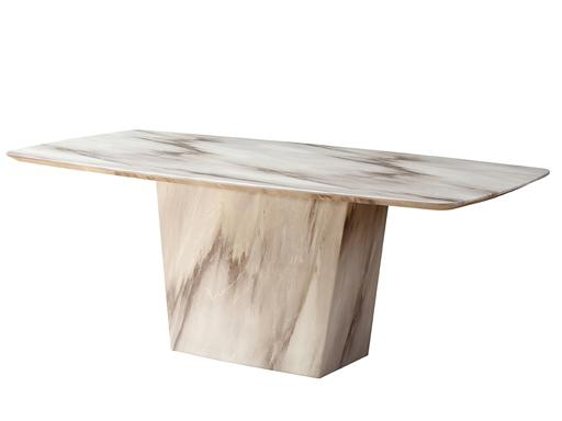 Sogne Marble Dining Table Dining Table Adore Home Living
