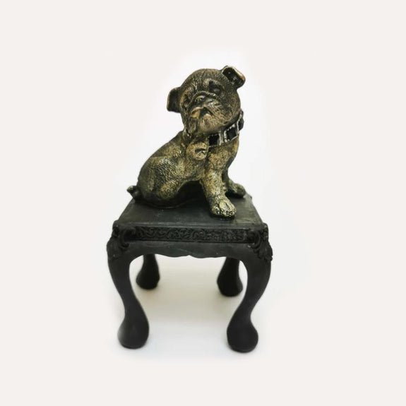 Sitting Puppy Decor Ornament Adore Home Living