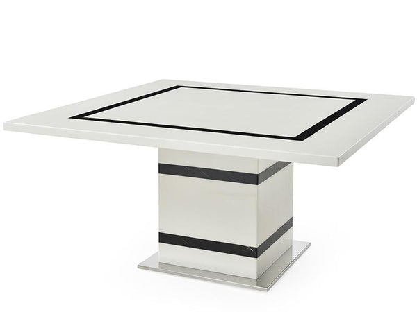 Tahana Marble Square Dining Table Dining Table Adore Home Living