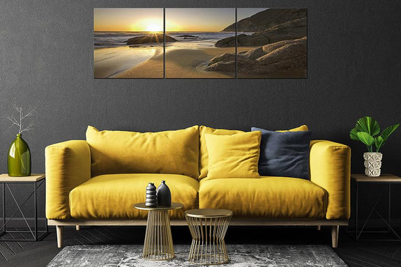 Acrylic Painting One Panel: Sunrise Beach - Order Only - Adore Home Living Perth WA