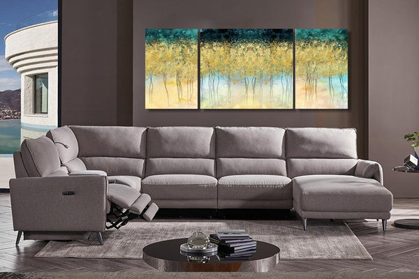 Diamond Painting Set of 3 The Autumn Golden Trees - Order Only Diamond Wall Art Adore Home Living