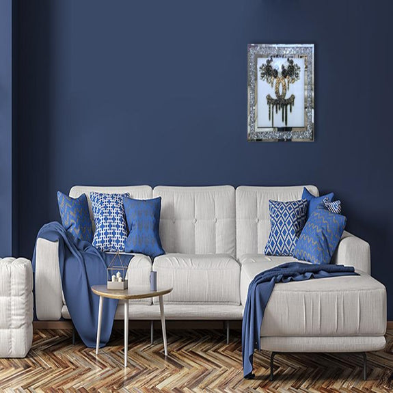 Mirrored  Painting: Chanel Mirrored Painting Adore Home Living
