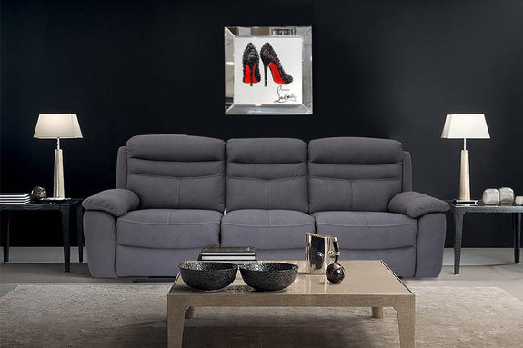 Mirrored  Painting: Hristian Louboutin Mirrored Painting Adore Home Living