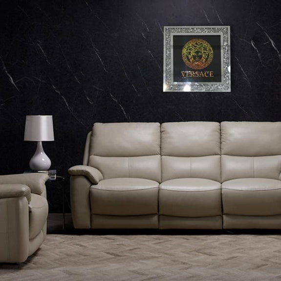 Mirrored  Painting: Versace Mirrored Painting Adore Home Living