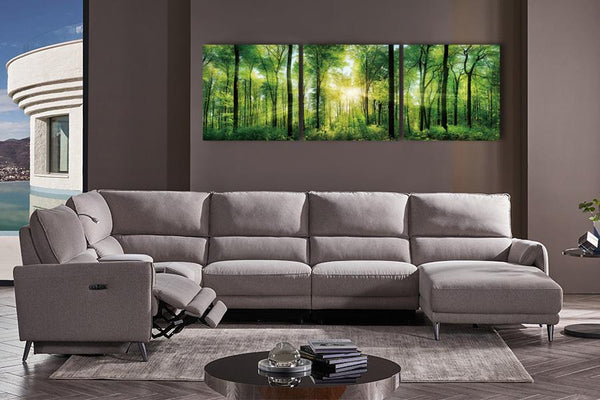 Acrylic painting set of 3: Scenic Forest Acrylic Printed Painting Adore Home Living