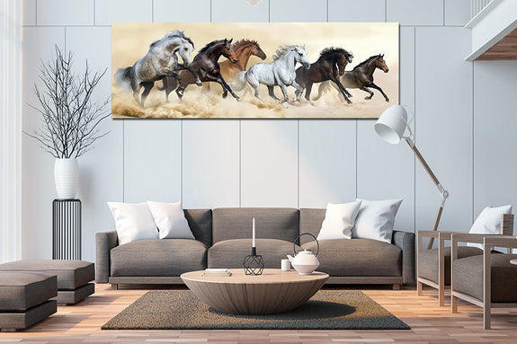 Pentium Horse Acrylic Wall Art 60x180cm - Order Only Acrylic Printed Painting Adore Home Living