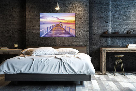 Jetty Sunrise Acrylic Wall Art - Order Only Acrylic Printed Painting Adore Home Living