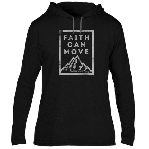 Faith Can Move Adult Hooded T-shirt ™