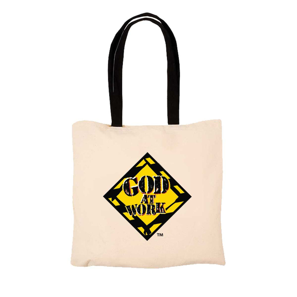 God At Work - Tote Bag