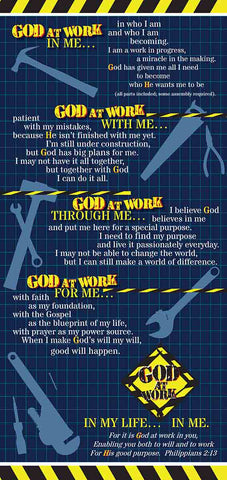 God At Work 5 x 7 Poster - God At Work