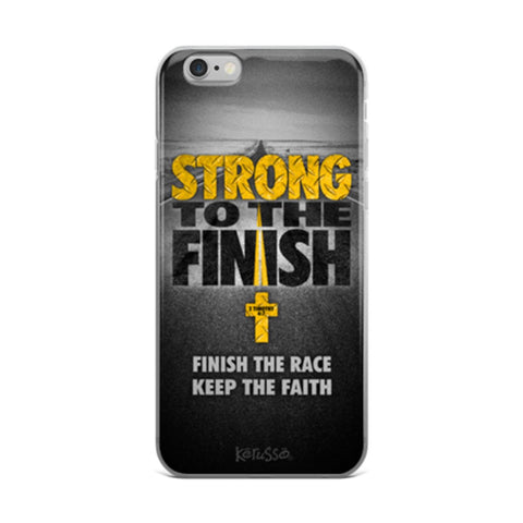 Strong to the Finish iPhone Case