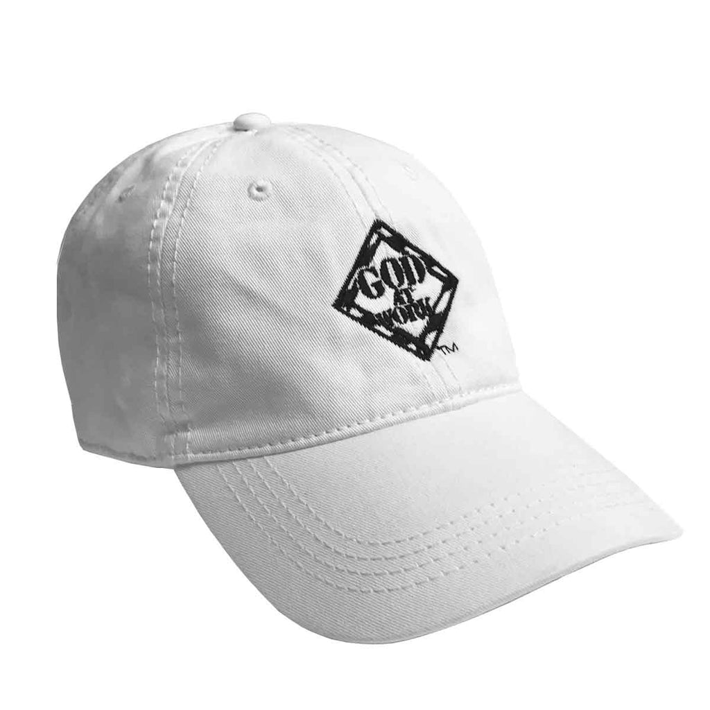 God At Work Logo Hat - White