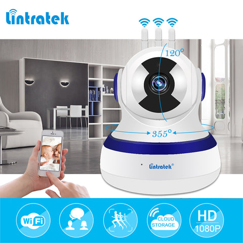 lintratek Surveillance Camera HD 1080P 2.0MP mini CCTV Wifi IP