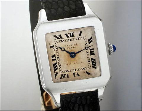 Cartier's Original Santos Wristwatch - 1910