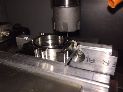 1.2mm helical interpolation threadmilling