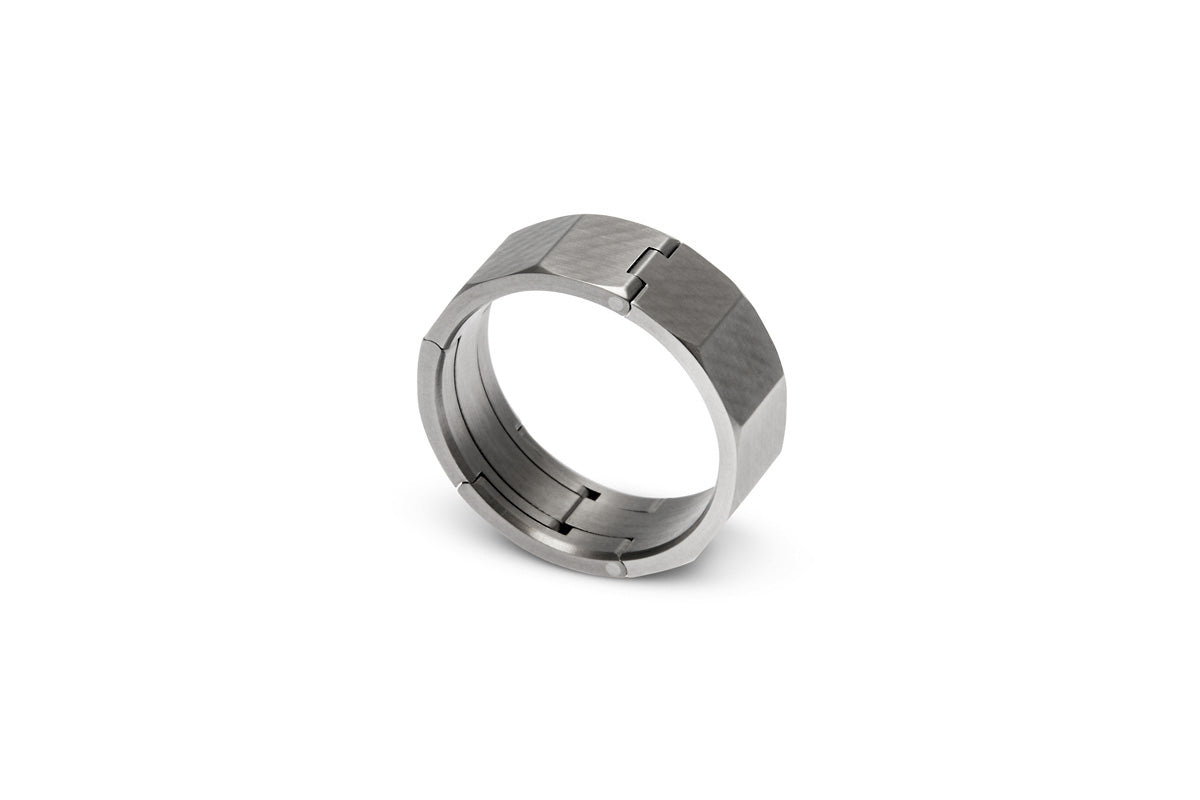 steel stainless functional bernadotte set rings product georg napkin wedding of ring jensen