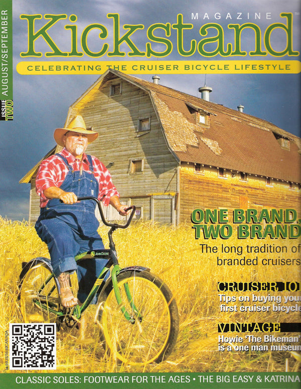 Kickstand - Rockmount Plaid Shirt on the Cover of Kickstand Magazine