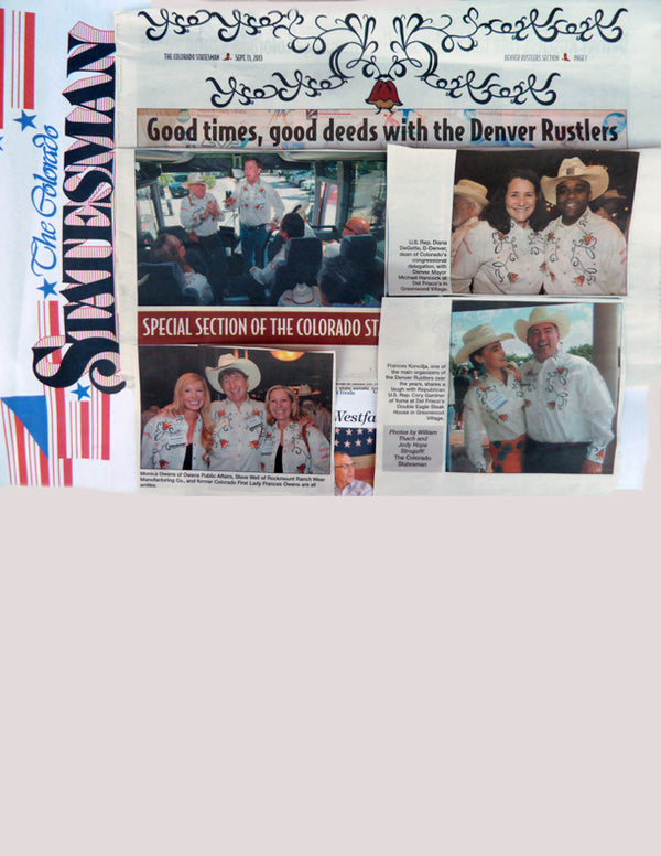 Colorado Statesman - Good Times, Good Deeds with the Denver Rustlers