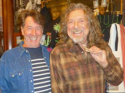 ROBERT PLANT VISITS DENVER, BRINGS BAND TO ROCKMOUNT