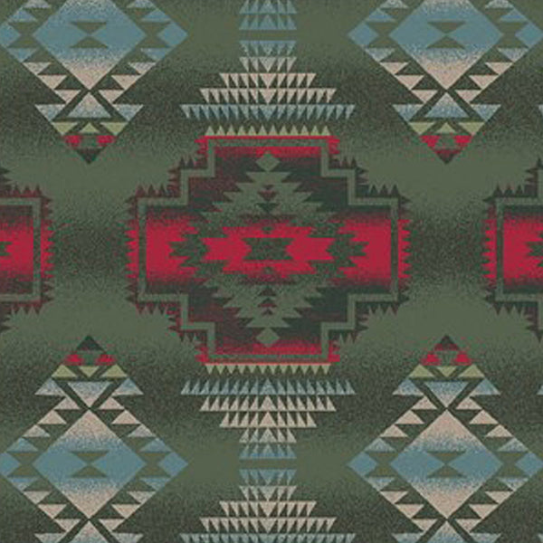 Native Pattern Fleece Western Blanket