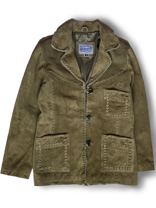 Women's Sand Laced Suede Jacket