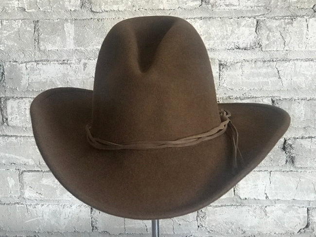 """Lonesome Gus"" Sorrel  Premium 100% Wool Crushable Felt Hat - Rockmount"