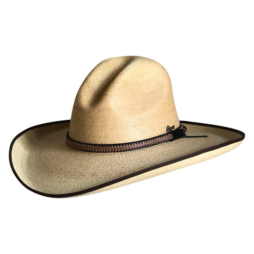 Fine Palm Straw Golden Gus Western Cowboy Hat
