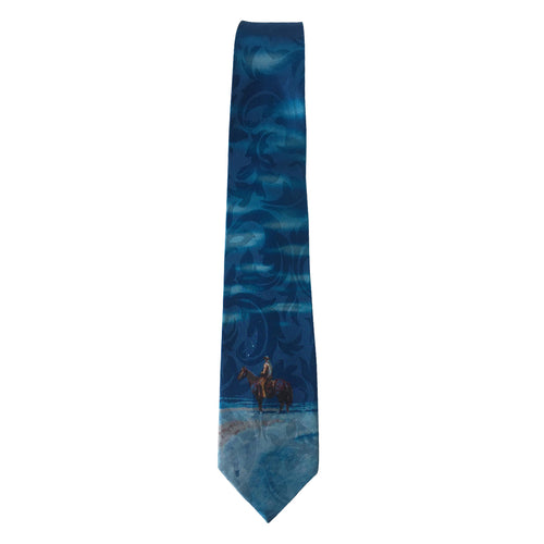 Limited-Edition Snow Painting Silk Tie by Harold Holden
