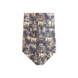 Roper & Brands Denim Western Silk Tie