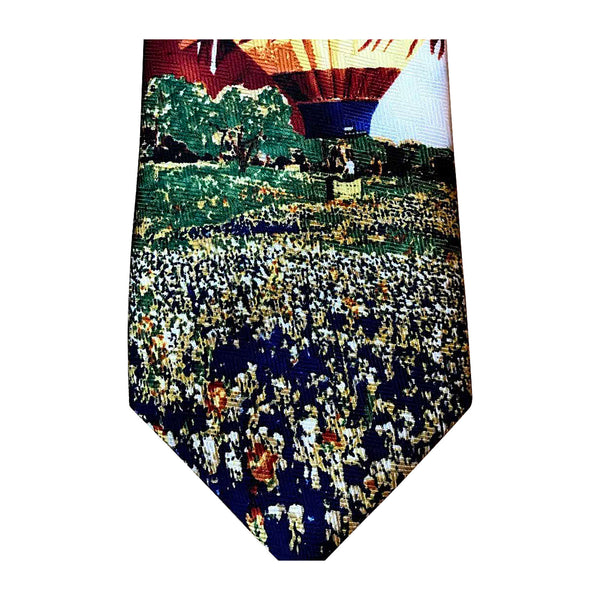 Limited-Edition Texas Hot Air Balloons Silk Tie by Lisa M. Davie