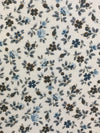 Women's Blue Floral Print Western Dress Shirt - Rockmount