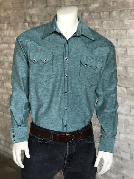 Men's Special Chambray Western Shirt