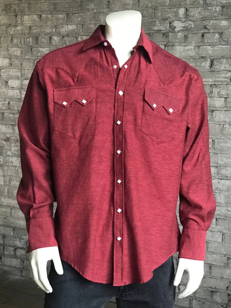 Men's Turquoise Sawtooth Western Shirt