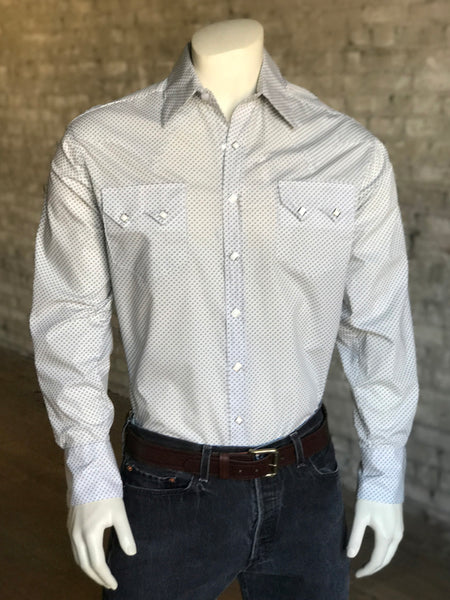 Men's Red Check Western Shirt