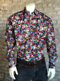 Men's Day of the Dead Print Western Shirt - Rockmount
