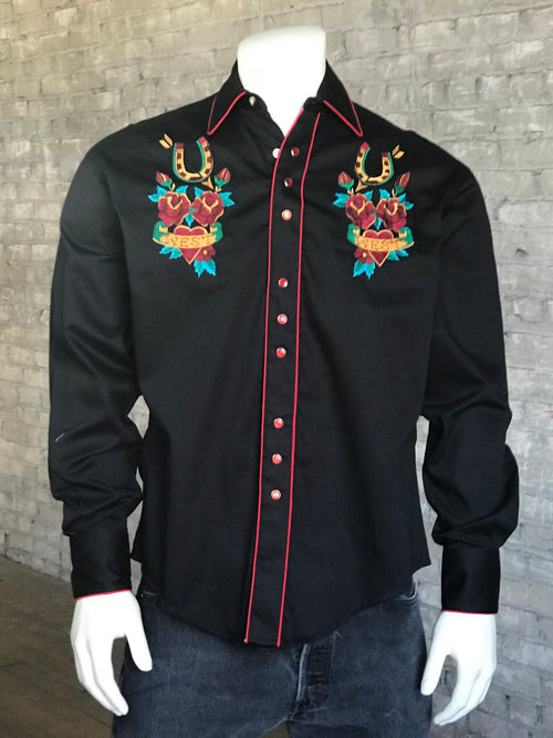 Men's Vintage Key To Heart Shirt - Rockmount