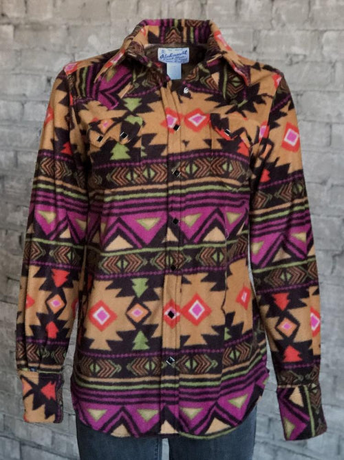 Women's Native Pattern Fleece Western Shirt - Rockmount
