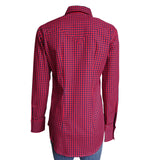 Women's Red & Black Buffalo Check Western Shirt
