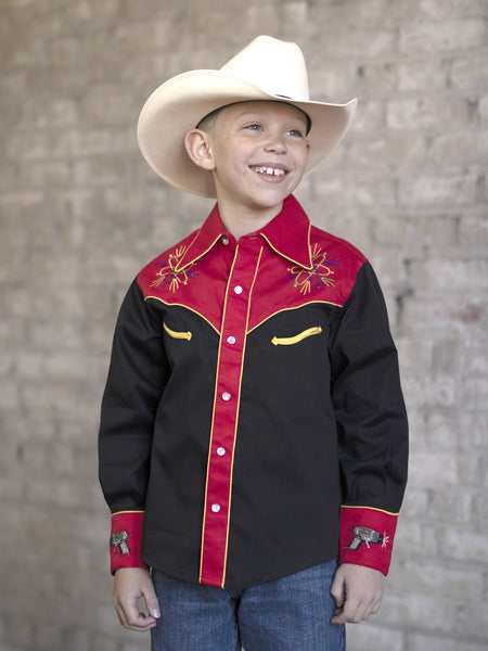 Kid's Back To The Future Western Shirt - Rockmount