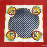 Spanish Galleon Sailing Ships Cotton Bandana