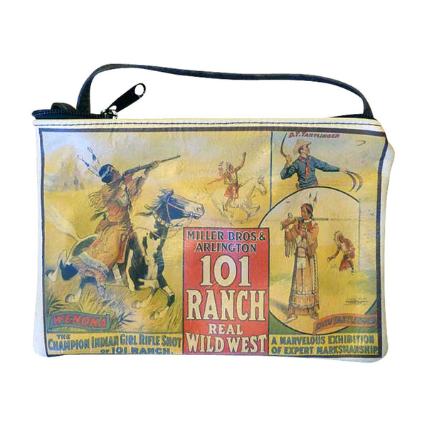 Wild West Show 101 Ranch Leather Western Purse