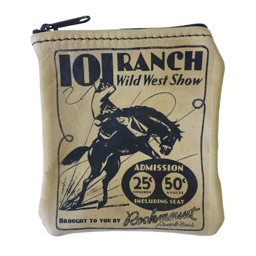 101R Ranch Coin Leather Purse