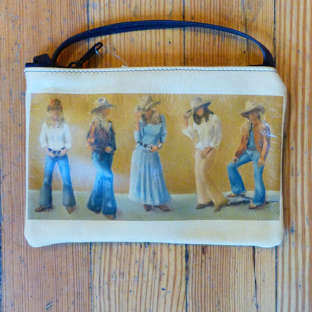 Cowgirl Buff Hunt Leather Purse