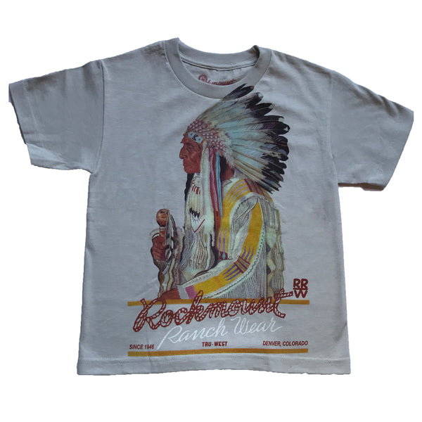 Kid's Premium Cotton Chief T-shirt - Rockmount