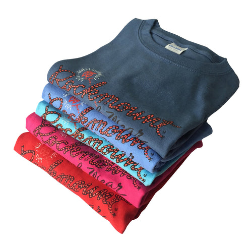Kid's Rockmount Bronc Western T-Shirts (5 Colors)